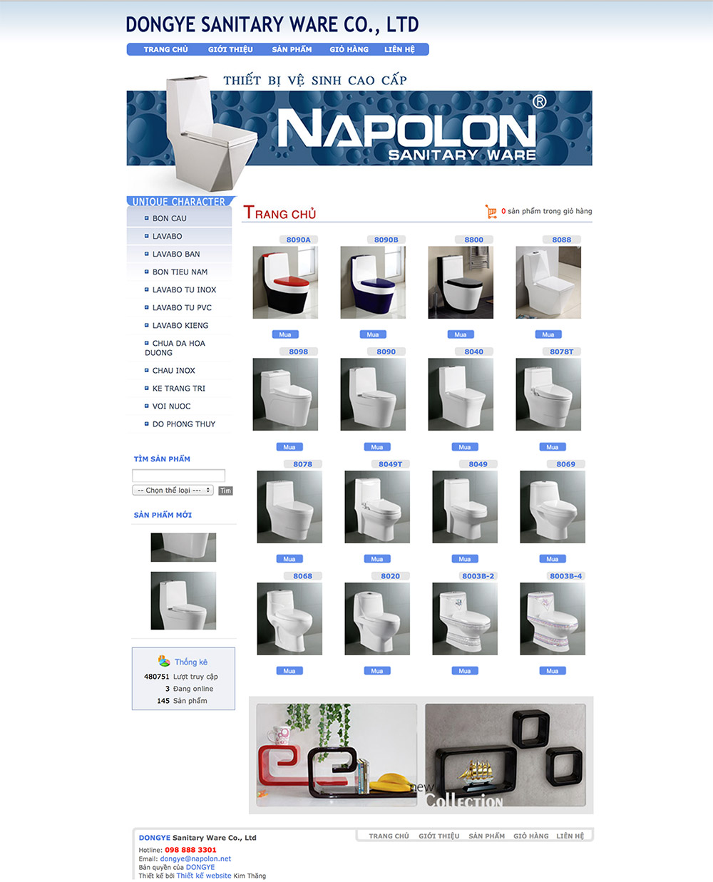 Napolon sanitary ware