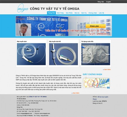 Công ty TNHH vật tư y tế Omiga