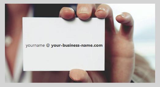 Sử dụng email theo tên miền để bảo đảm tính lâu dài