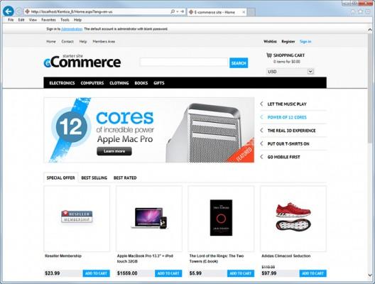 Mô hình website thương mại điện tử