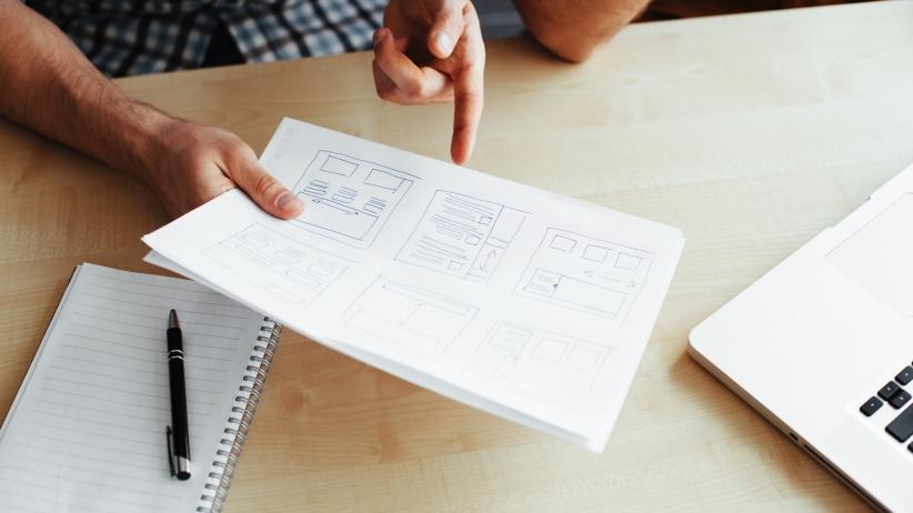 Định hướng cho một trang Web đơn giản