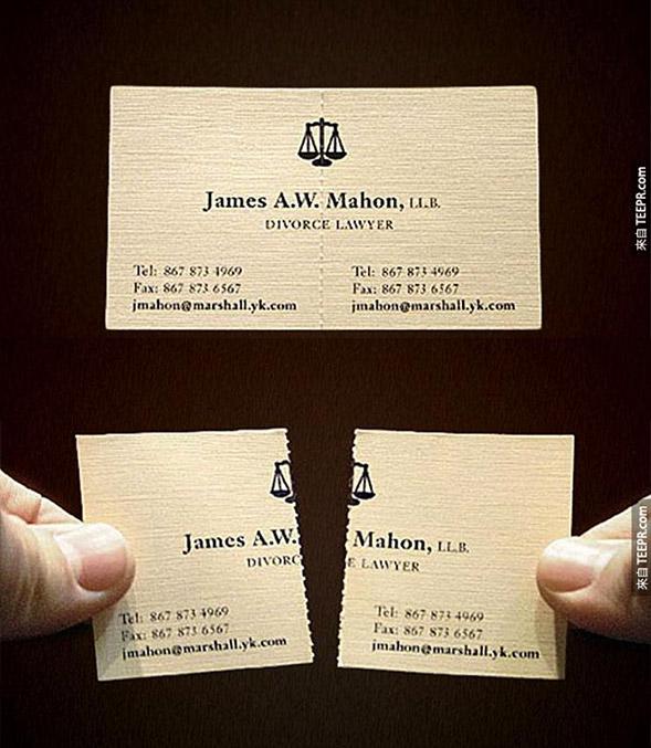 Danh thiếp Luật sư chuyên về ly hôn