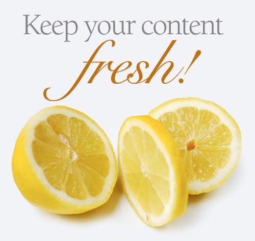 Fresh content chỉ có giá trị khi nội dung liên quan