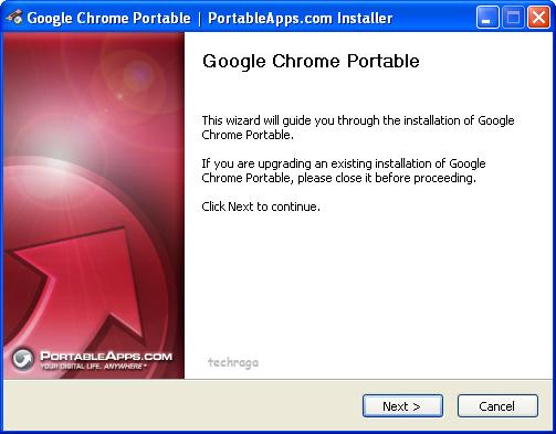Trình duyệt web di động - Portable Chrome