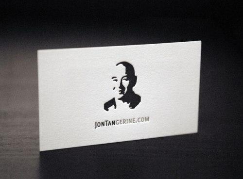 Jontan Gerine – còn gì đơn giản hơn là một tờ giấy trắng và đơn độc một dòng chữ Jontangerine.com?