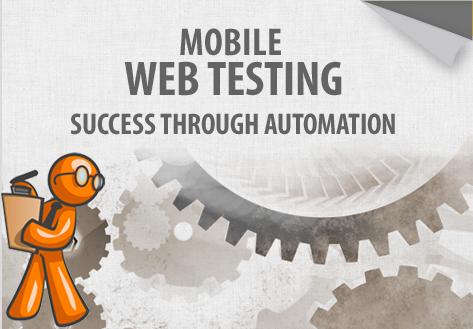 Test website mobile