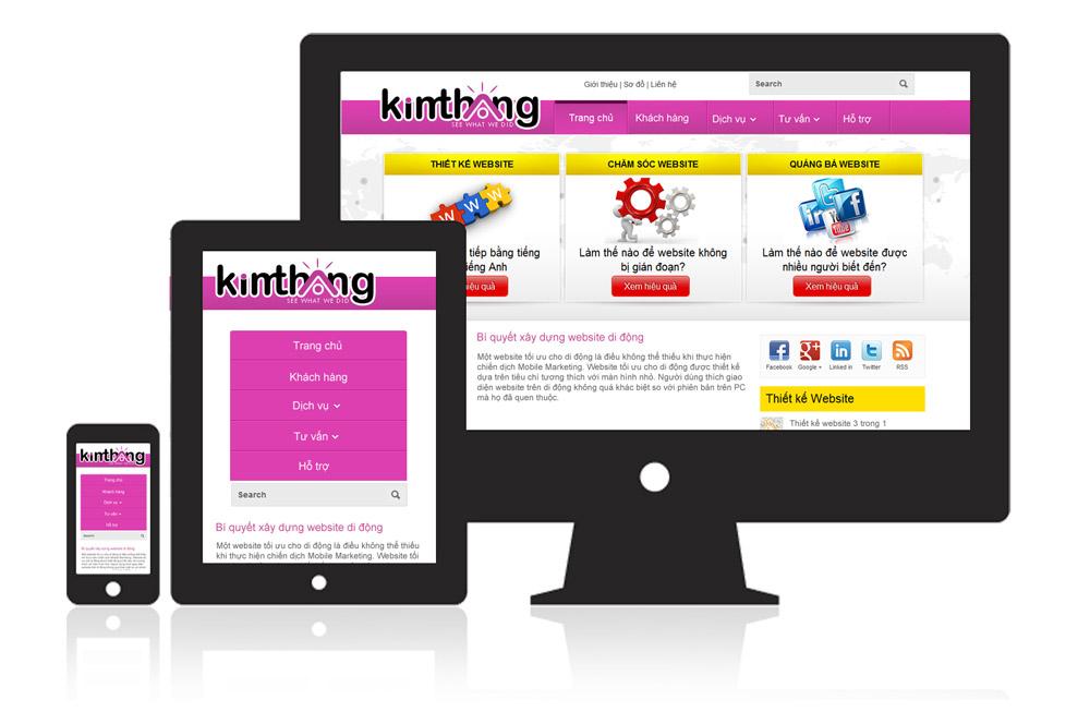 Website hiển thị tốt trên các thiết bị di động giúp bạn gia tăng nguồn khách hàng