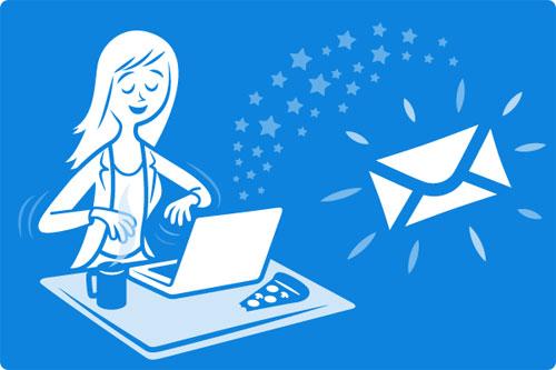Ghi đầy đủ chỉ đề khi gửi mail