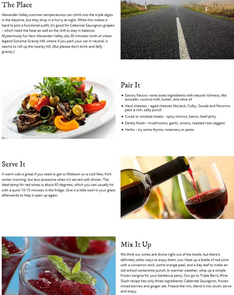 Cách phối hợp rượu vang với món ăn đi kèm