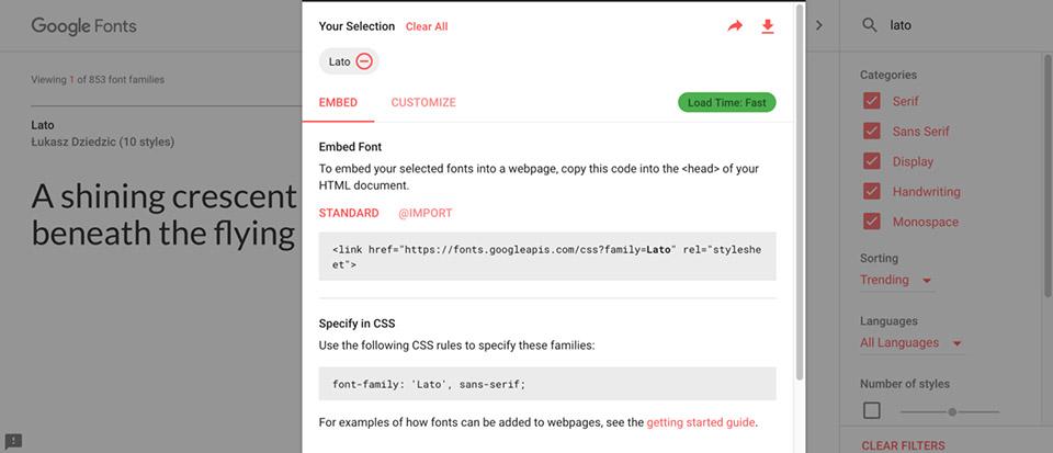 Copy và paste đoạn code liên quan vào Website