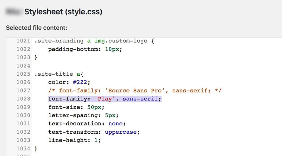 Paste vào vị trí có định dạng mà bạn muốn thay đổi kiểu chữ (tiêu đề hoặc tên công ty)